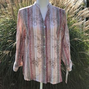 Alfred Dunner Dress Blouse